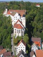 Schlosskirche und Schloss Haigerloch