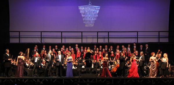 Auftritt beim Opernfestival Gut Immling.