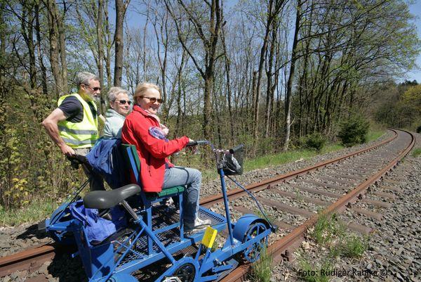 Draisinenbahn Halver - Streckenverlauf