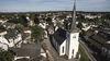 Luftbild der Nicolai Kirche