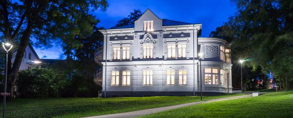 Die Villa Wippermann nach der Sanierung