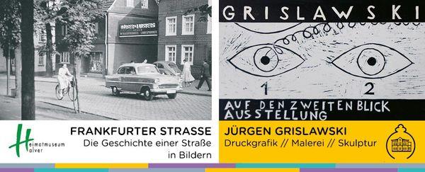 Die aktuellen Ausstellungen in der Villa Wippermann