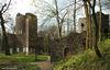 Burgruine im Staatspark Wilhelmsbad