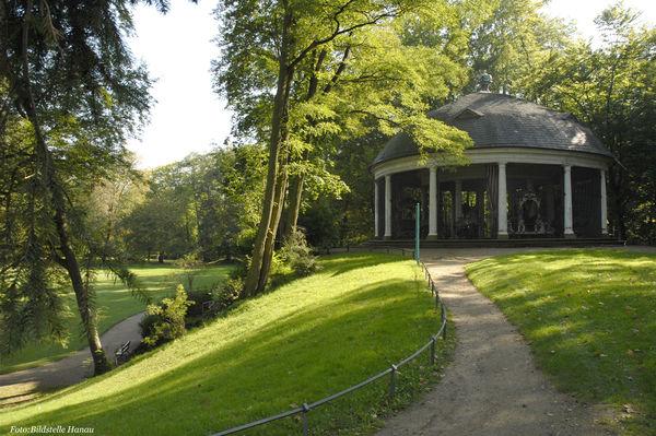 Karussell im Staatspark Wilhelmsbad