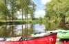 Kanus zur Tour bereit, Foto: TMB-Fotoarchiv/Regina Zibell