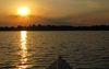 Kanutour auf der Spree bei Sonnenuntergang, Foto: Tourismusverband Seenland Oder-Spree e.V.