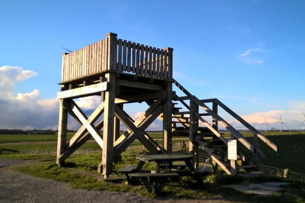 Aussichtsturm Kranz mit Picknickplatz