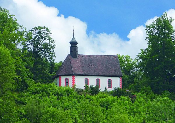 Eine ehemalige Wallfahrtskirche in Hausach aus dem 16. Jahrhundert.