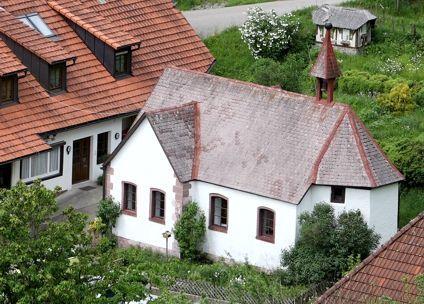 Die Wendelinuskapelle in Hausach aus dem Jahr 1738