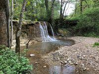 Wasserfall der Schlichem bei Hausen am Tann