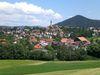 Blick auf den Luftkurort Hauzenberg im südlichen Bayerischen Wald