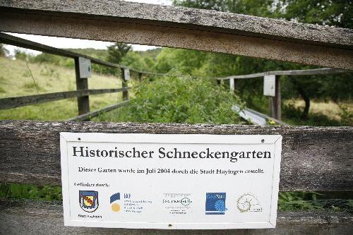 Denkmal an die Schneckensammler