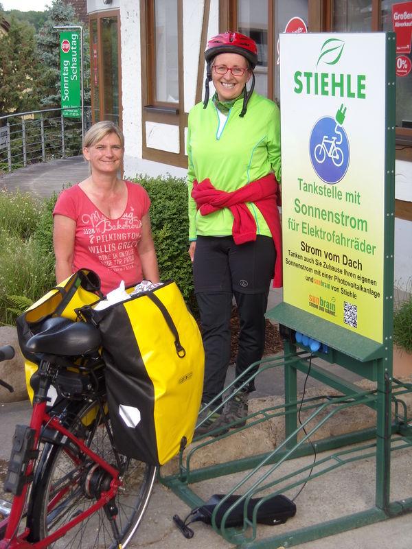 E-Tankstelle für E-Bike und E-Car  - Bild 1