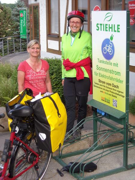 E-Tankstelle für E-Bike und E-Car