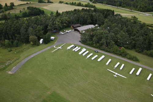 Segelflugplatz Hayingen - Bild 1