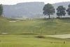 Weiter Blick über den Rottaler Golf- und Country-Club