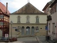 Außenansicht der Alten Synagoge in Hechingen
