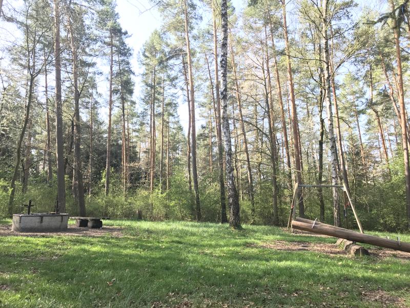 Spielplatz am Waldlhrpfad mit Grillstelle