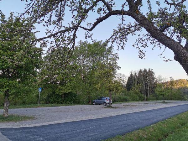Parkplatz Sportplatz Hechingen-Schlatt