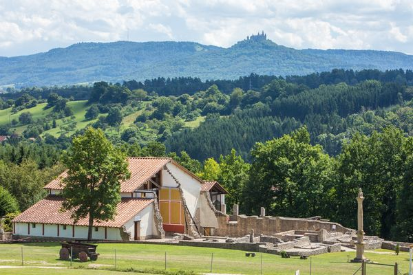 Anlage des Römischen Freilichtmuseums in Hechingen-Stein