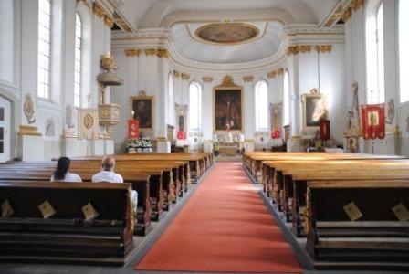 Stiftskirche St. Jakobus in Hechingen - Innen