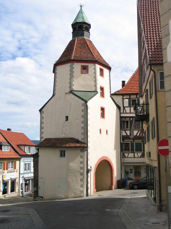Unterer Turm in Hechingen