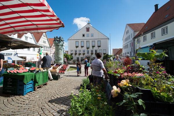 Wochenmarkt Hechingen