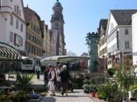 Wochenmarkt in Hechingen