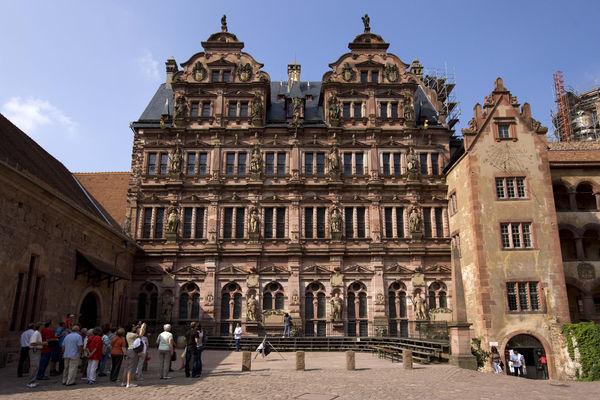 Schloss Heidelberg Friedrichsbau