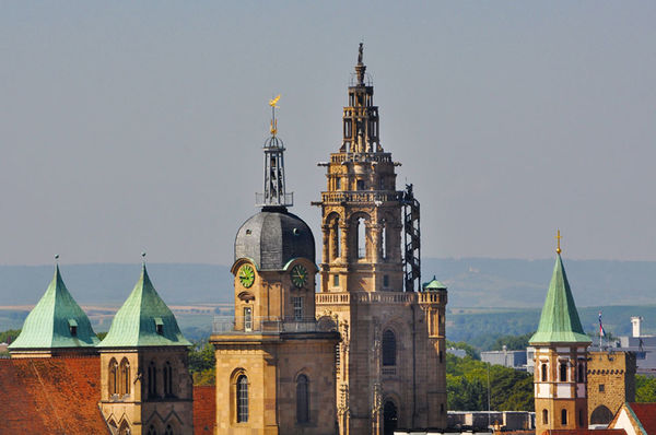 Heilbronner Türme (Kilianskirche, Hafenmarktturm und Deutschordensmünster)