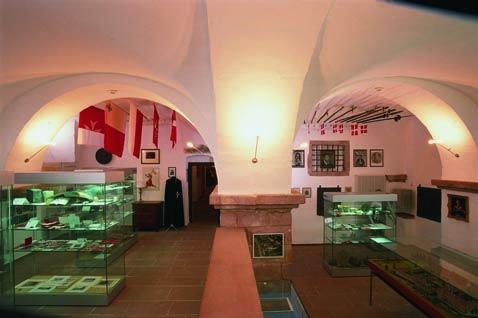 Ausstellungsraum Museum i. Schloss