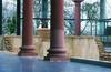 Römermuseum Innenraum m. Säulen