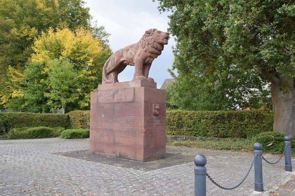 Löwe Denkmal
