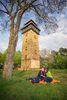 Wachtelturm auf dem Wachtelberg in Hennickendorf, Foto: Florian Läufer