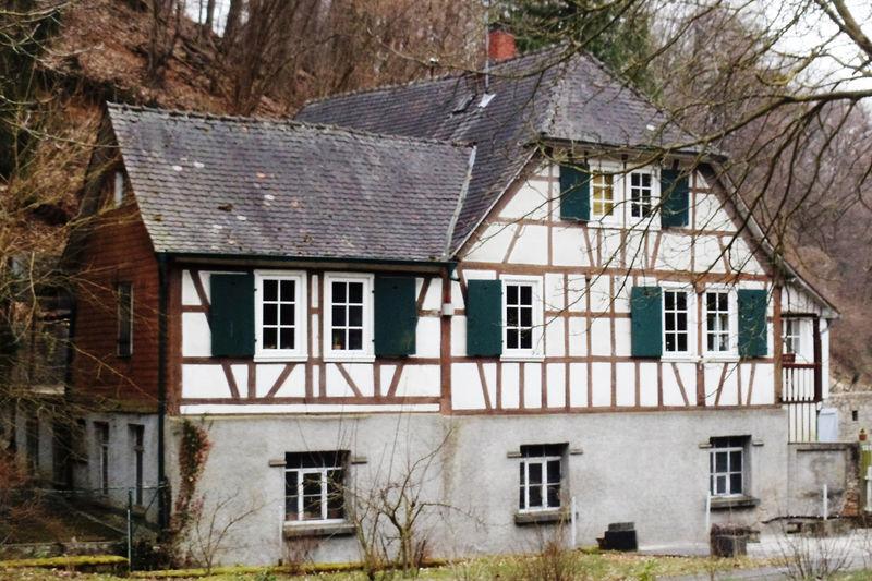 Die noch gut erhaltene Schneidmühle.