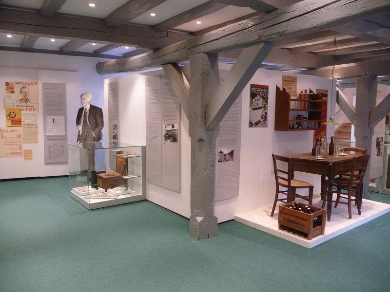 Dauerausstellung im Museum
