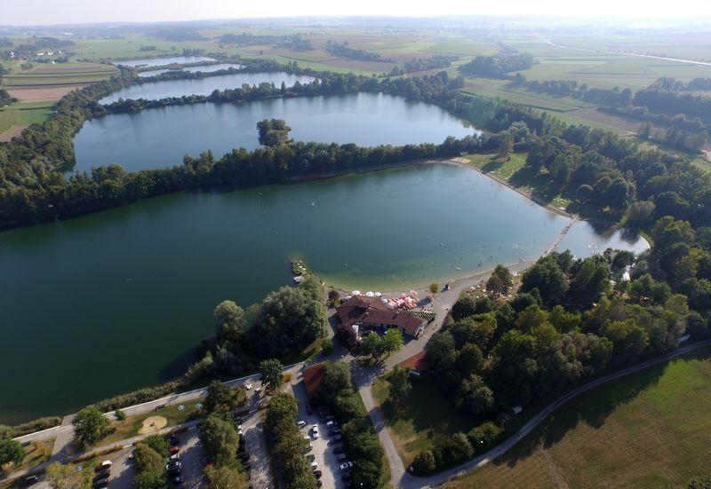Luftbild Schwarzachtalseen