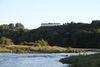 Blick vom Donautal zum Frühkeltischen Fürstensitz Heuneburg