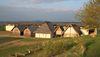 5 rekonstruierte Häuser der Heuneburg