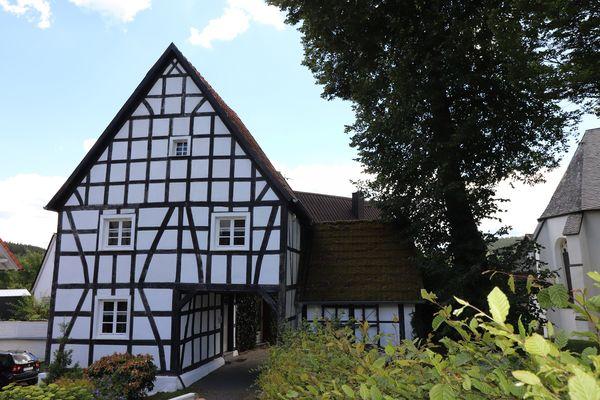 Das liebevoll restaurierte Fachwerkhaus - der