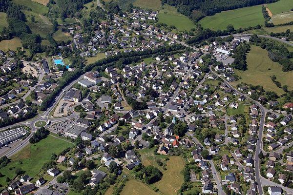 Luftaufnahme Dorfkern