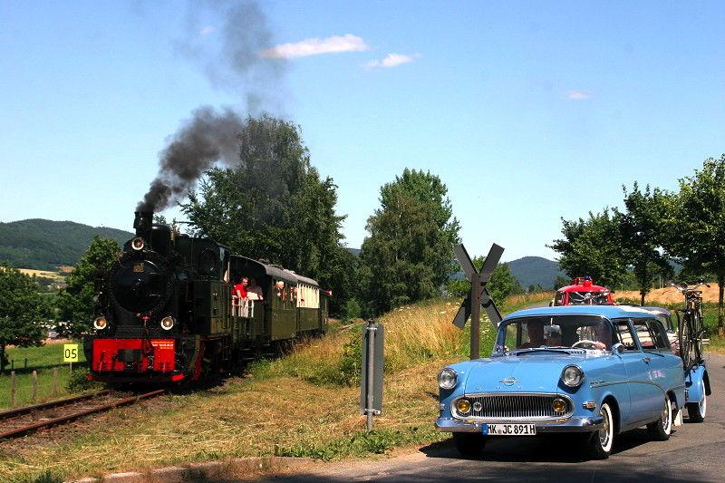 Oldtimertag bei der Sauerländer Kleinbahn