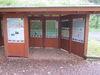 Informationshütte an Wanderparkplatz Nordhelle
