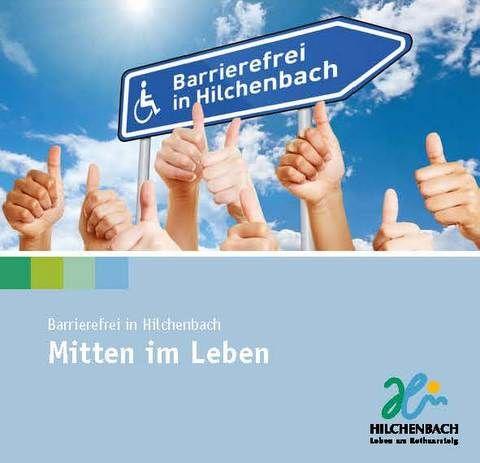 Design des Faltflyers Barrierefreies Hilchenbach