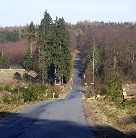 Eisen- bzw. Kohlenstraße am Rothaarkamm