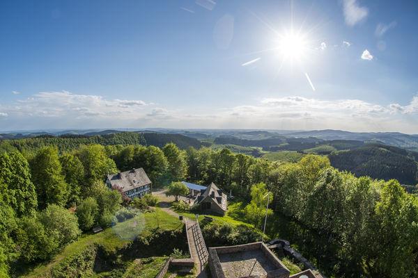 Blick auf Hilchenbach