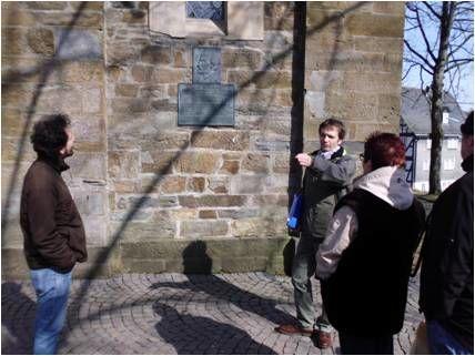 Gästeführung an der Kirche Hilchenbach