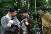 Martin und Matthias Beume und Michael Thon alias Nachtwächter Johann im Gespräch