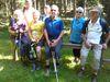 Wandergruppe auf der Wigrow
