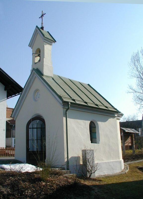 Die Dorfkapelle in Kaining in der Gemeinde Hinterschmiding
